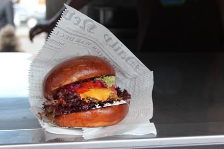 Czech burger